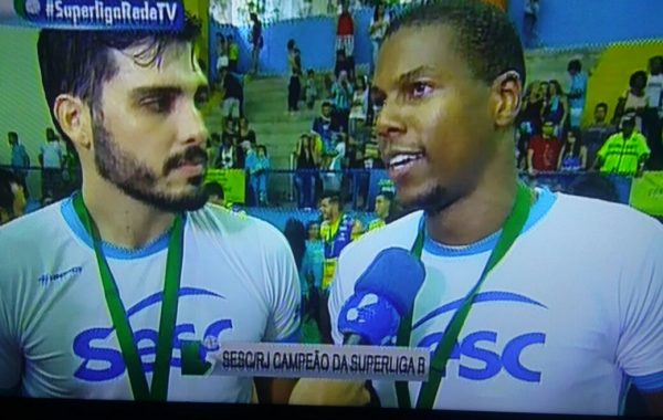 Sesc-RJ – Campeão Superliga